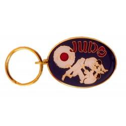 Breloc Oval Judo