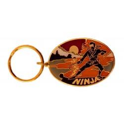 Breloc Oval Ninja