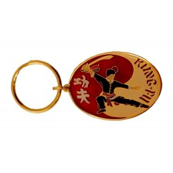 Breloc Oval Kung Fu