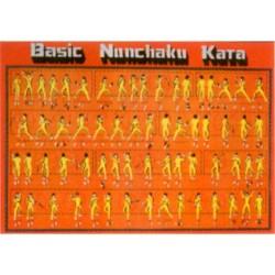 Poster arte marțiale H-221 - Nunchaku