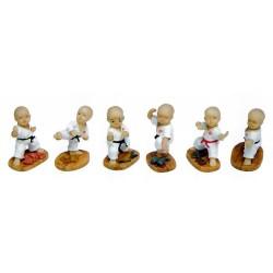 Set Figurine Karate - 1