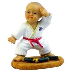 """Figurina mica karate """"H"""""""