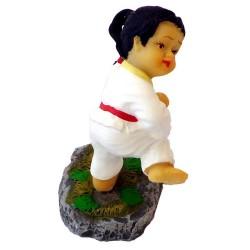 """Figurina mica karate """"J"""""""