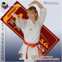 Kimono Karate Kata Arawaza Amber Evolution - Aprobat WKF